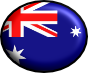 australian flag in blue and union jack