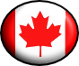 flag of canada with horizontal stripes of red, white and red colour and a leaf