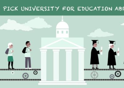 How to choose a university for studying abroad