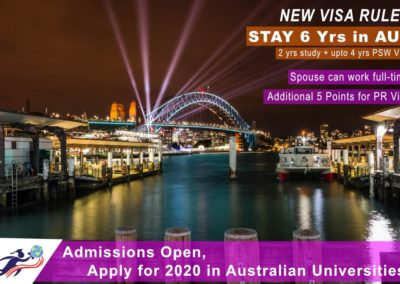 Study in Australia – New initiatives by Australia for attracting international students