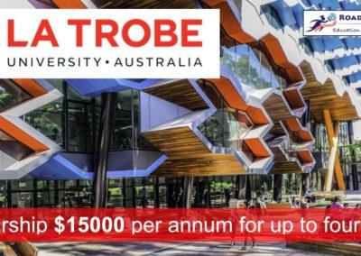 Scholarship at La Trobe University, AUS