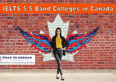 IELTS 5.5 Band Colleges in Canada