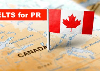 IELTS score for Canada PR
