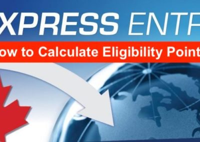 Eligibility Points for Express Entry – How to Calculate?