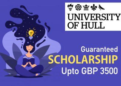 International Studentships at University of Hull