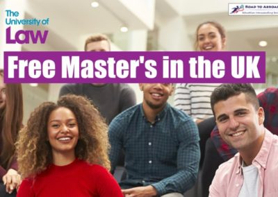 Free Masters Degree in UK