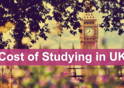 Cost of Studying in UK for Indian Students