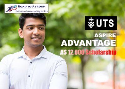 Aspire Advantage Scholarship at University of Technology Sydney
