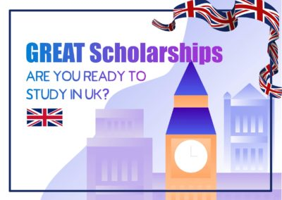 GREAT Scholarship for Indian Students to Study in UK