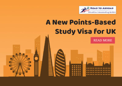 A new points-based Study Visa for UK